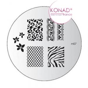 Plaque M57 Konad