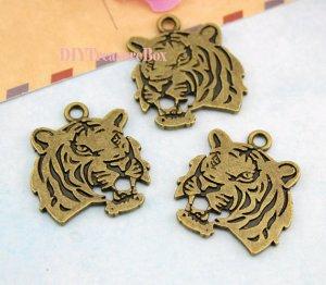 Tête tigre 2,29 € Etsy